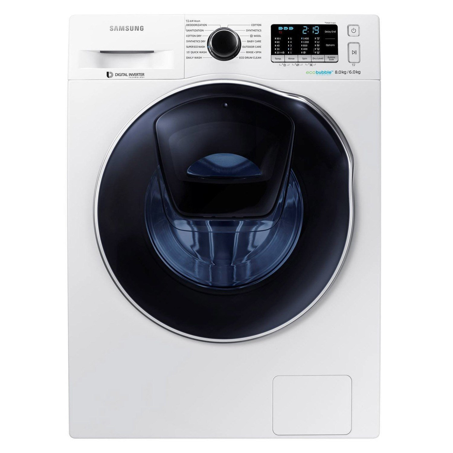 samsung washer dryer 8kg 6kg life in notions. Black Bedroom Furniture Sets. Home Design Ideas